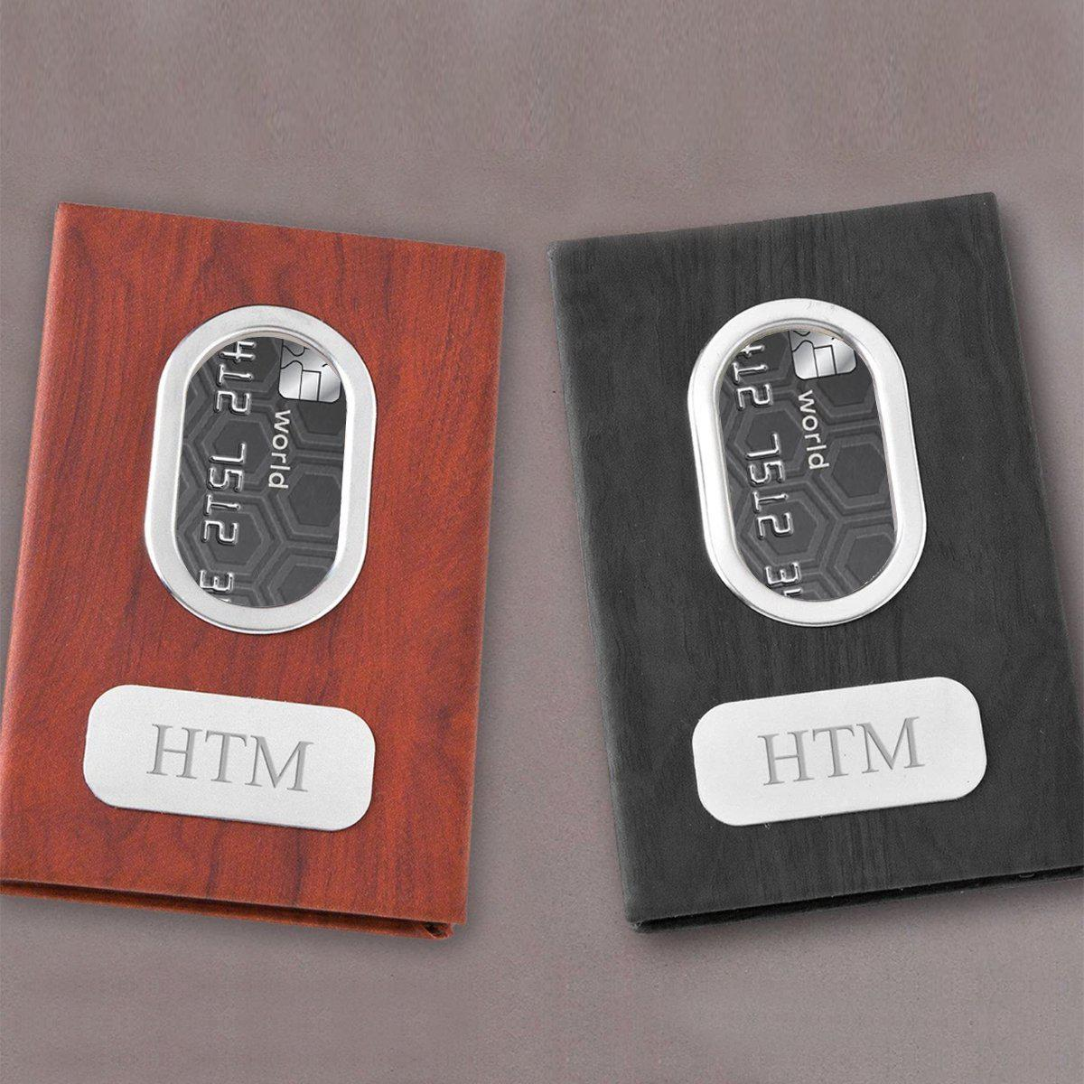 Engraved Monogram Gifts for Men Set of 5 Personalized Millionaire Money Clip for Wedding Party 845