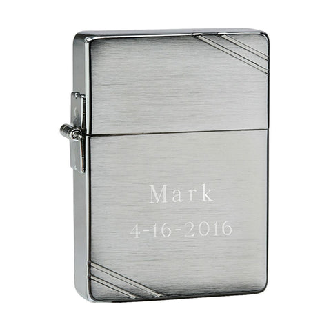 Personalized Zippo Replica Lighter-Groomsmen Gifts