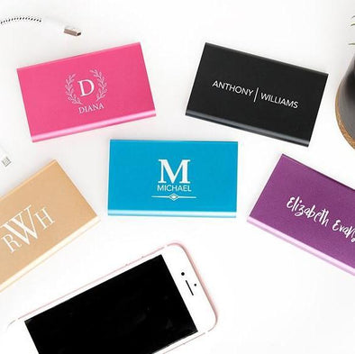 Personalized Powerful Power Banks