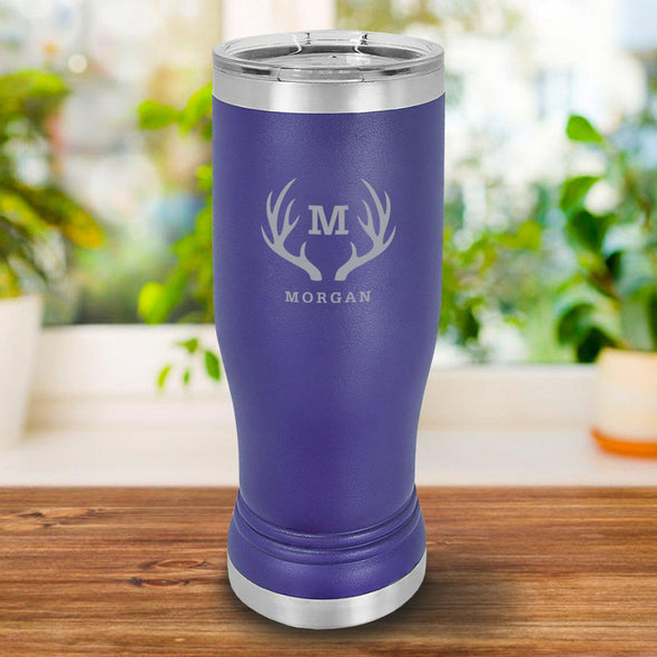 Personalized 20oz Pilsner - Purple