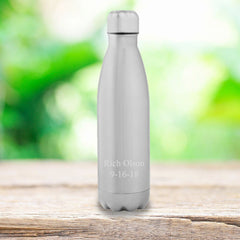 Personalized Stainless Steel Water Bottle-