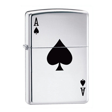 Engraved Zippo Aces Lighter-Default-