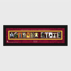 Personalized Pac 12 Division Conference Architectural Campus Art-Groomsmen Gifts