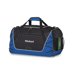 Personalized Groomsmen Duffel Bag - Gym Bag-Travel Gifts-JDS-Blue-