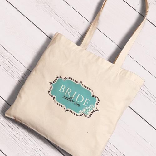 Personalized Canvas Totes - Bride and Bride to Be-SimplySweet-