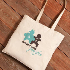 Personalized Canvas Tote - Bridesmaid-CuteCouple-
