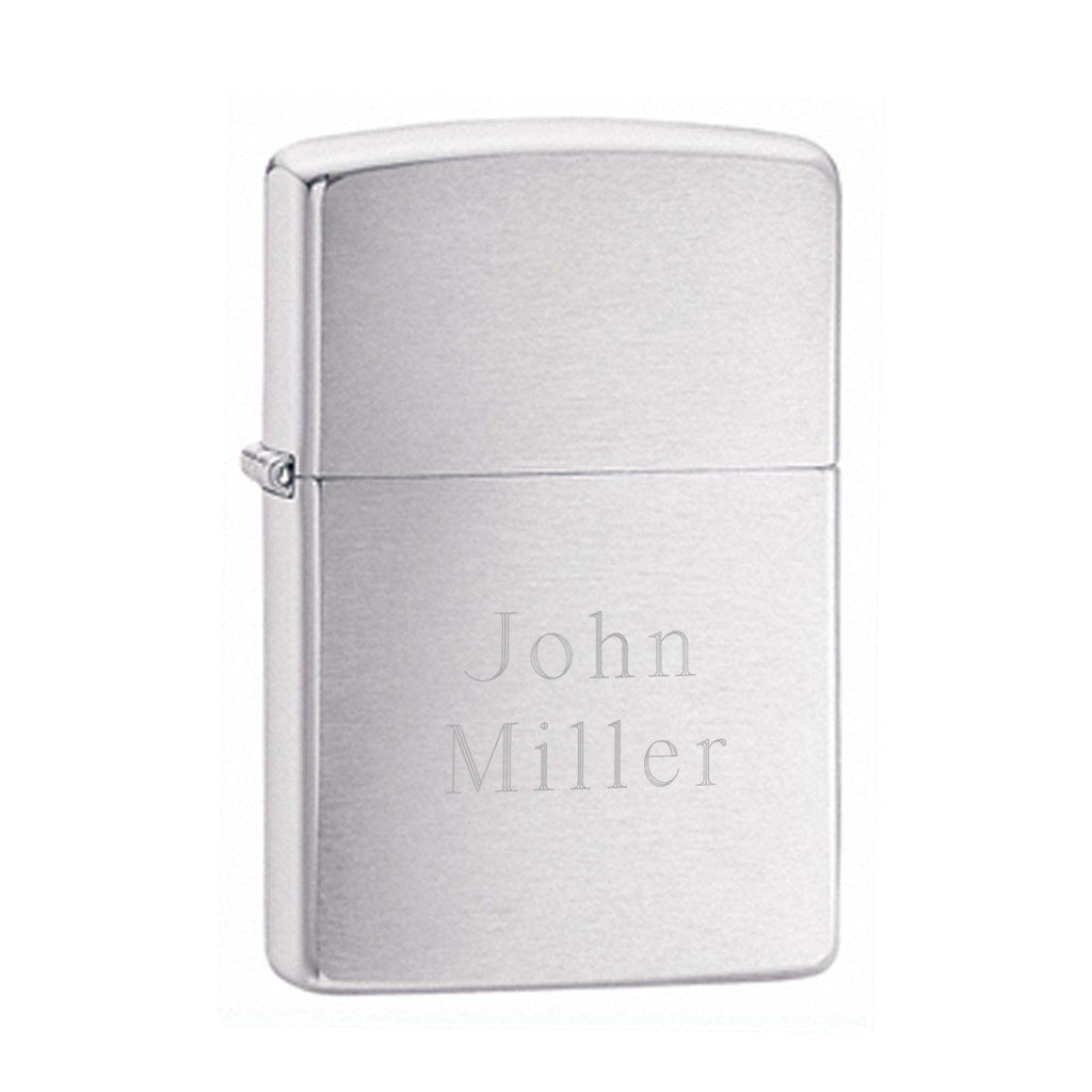 Personalized Lighters - Zippo - Chrome - Groomsmen Gifts