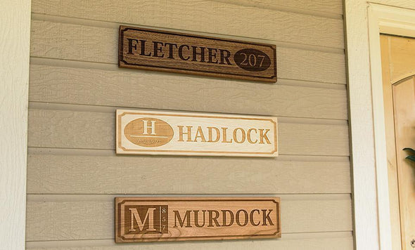 Perfectly Personalized House Signs (5X20)
