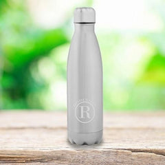 Personalized Stainless Steel Water Bottle - Monogrammed Water Bottles