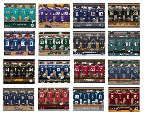 Personalized Nfl Team Canvas Pub Print Groomsshop Com