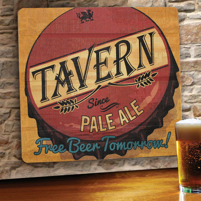 Personalized Bar Signs - Wooden Sign - Man Cave Signs-