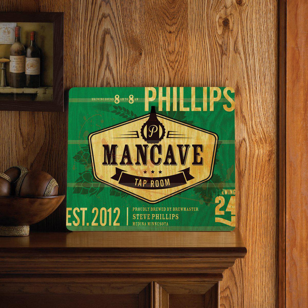 Personalized Bar Signs - Wooden Sign - Man Cave Signs