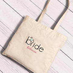 Personalized Canvas Totes - Bride and Bride to Be-Bling-
