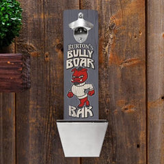Personalized Bottle Opener - Wall Mounted - Groomsmen Gifts-Boar-