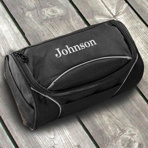Personalized Travel Bag - Shaving Kit - Canvas - Groomsmen Gifts-Groomsmen Gifts