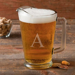 Personalized 60 oz. Glass Beer Pitcher-Default-