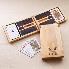 Personalized Wood Cribbage Game-Groomsmen Gifts
