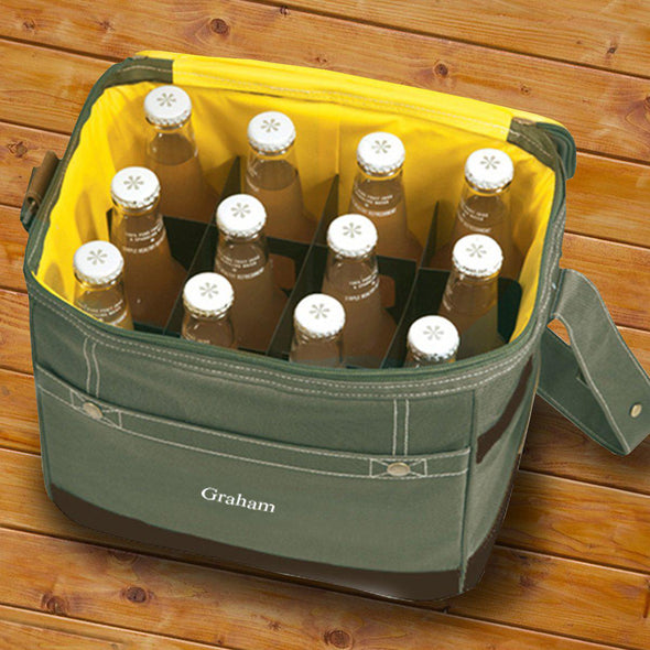 Personalized Trail Coolers - Insulated - Holds 12 Pack
