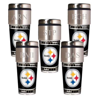 Personalized Set of 5 NFL Travel Tumbler - NFL Insulated Tumblers-Default-