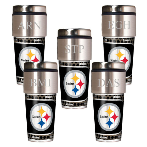 Personalized NFL Travel Tumbler - Set of 5-Groomsmen Gifts