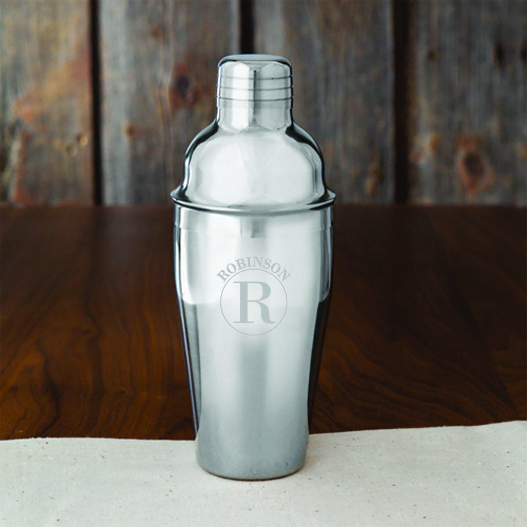 Groomsmen Personalized 20 oz. Stainless Steel Cocktail Shaker - Personalized Cocktail Shaker