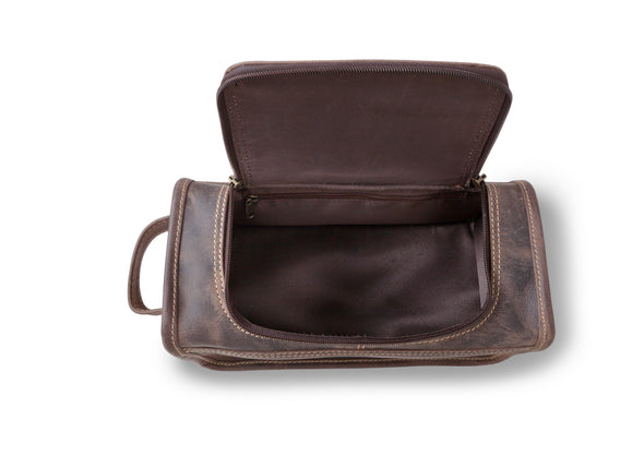 Personalized Distressed Brown Borello Travel Travel Bag-Travel Gifts-JDS-