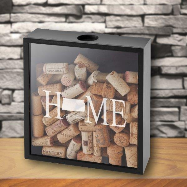 Personalized Home State Shadowbox