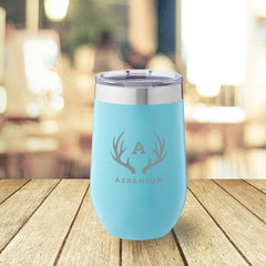 Personalized Mint 16 oz. Travel Tumbler