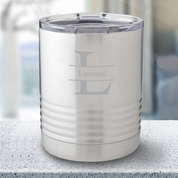 Personalized 10 oz. Stainless Steel Travel Tumbler