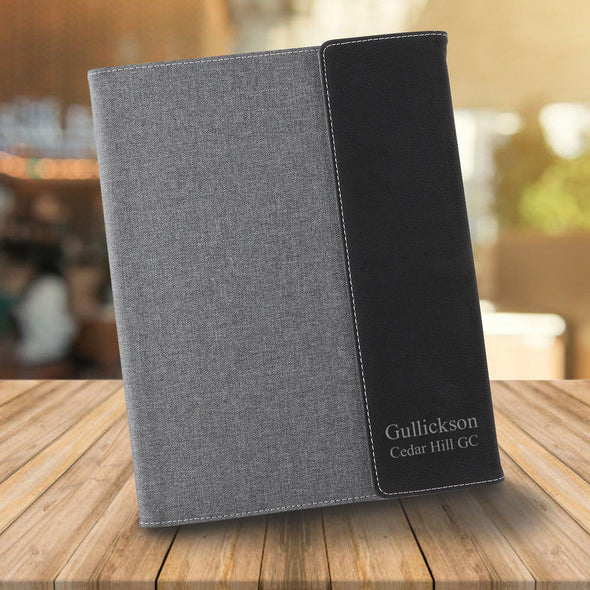 Personalized Portfolio - Gray Canvas