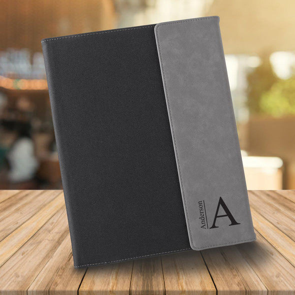 Personalized Portfolio - Black Canvas