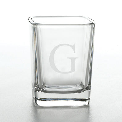 Personalized Shot Glasses - Square Shot Glass - Groomsmen Gifts-Default-