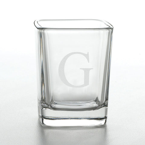 Engraved Square Shot Glass-Groomsmen Gifts