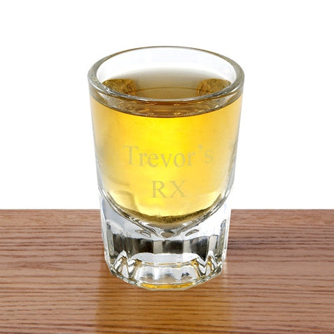 Engraved Distinctive Shot Glass-Groomsmen Gifts