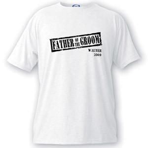 Custom T Shirts - Stamp Series - Groomsmen Gifts - Wedding Gifts-F.O.G.-