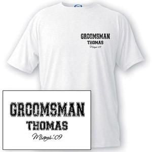 Custom Men's Collegiate Series T-shirts
