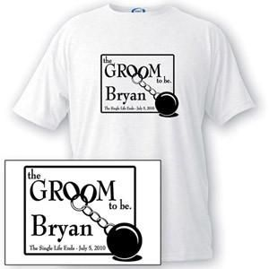 Personalized T Shirt - Groom to Be - Groom Gifts-Groomsmen Gifts