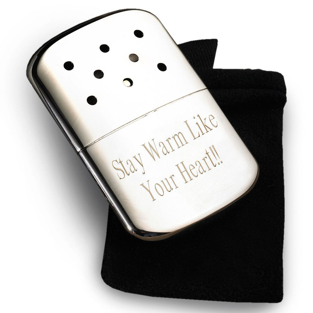 Engraved Zippo Hand Warmer