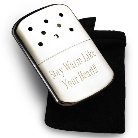 Engraved Zippo Hand Warmer-Groomsmen Gifts