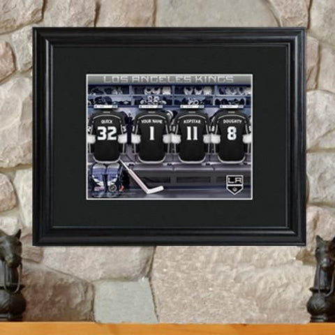 Personalized NHL Locker Room Print-Groomsmen Gifts