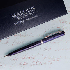 Personalized Arcadia Waterford Ballpoint Pen-Groomsmen Gifts