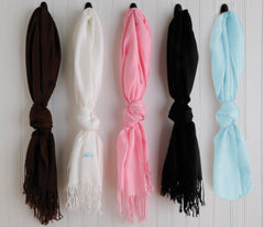 Personalized Scarf - Pashmina Scarf - Gifts for Her-Groomsmen Gifts