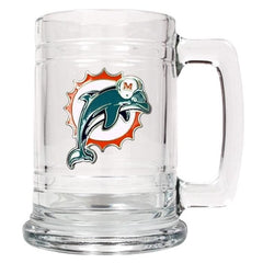 Personalized NFL Mugs - 14 oz.-Sports Gifts-JDS-Dolphins-