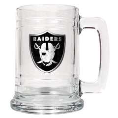 Personalized NFL Mugs - 14 oz.-Sports Gifts-JDS-Raiders-
