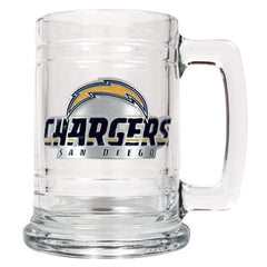 Personalized NFL Mugs - 14 oz.-Sports Gifts-JDS-Chargers-