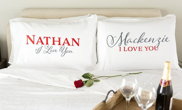 Personalized Romantic Pillowcases