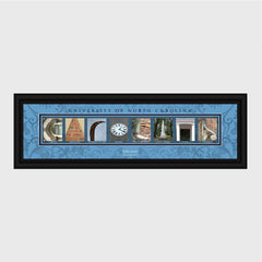 Personalized ACC Division Conference Architectural Campus Art-Groomsmen Gifts