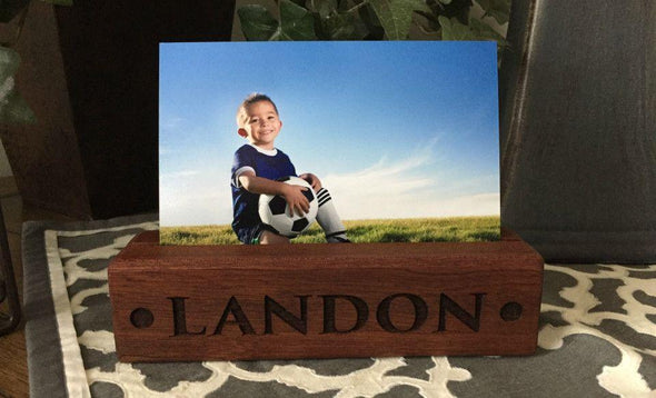 Personalized Photo Blocks