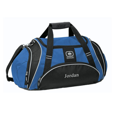 Personalized Royal Blue Ogio Gym Bag-Blue-