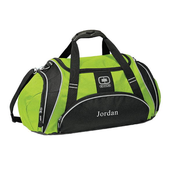 Personalized Green Ogio Gym Bag-Green-